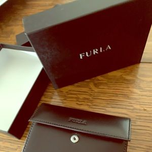 New Furla Double Flip Wallet